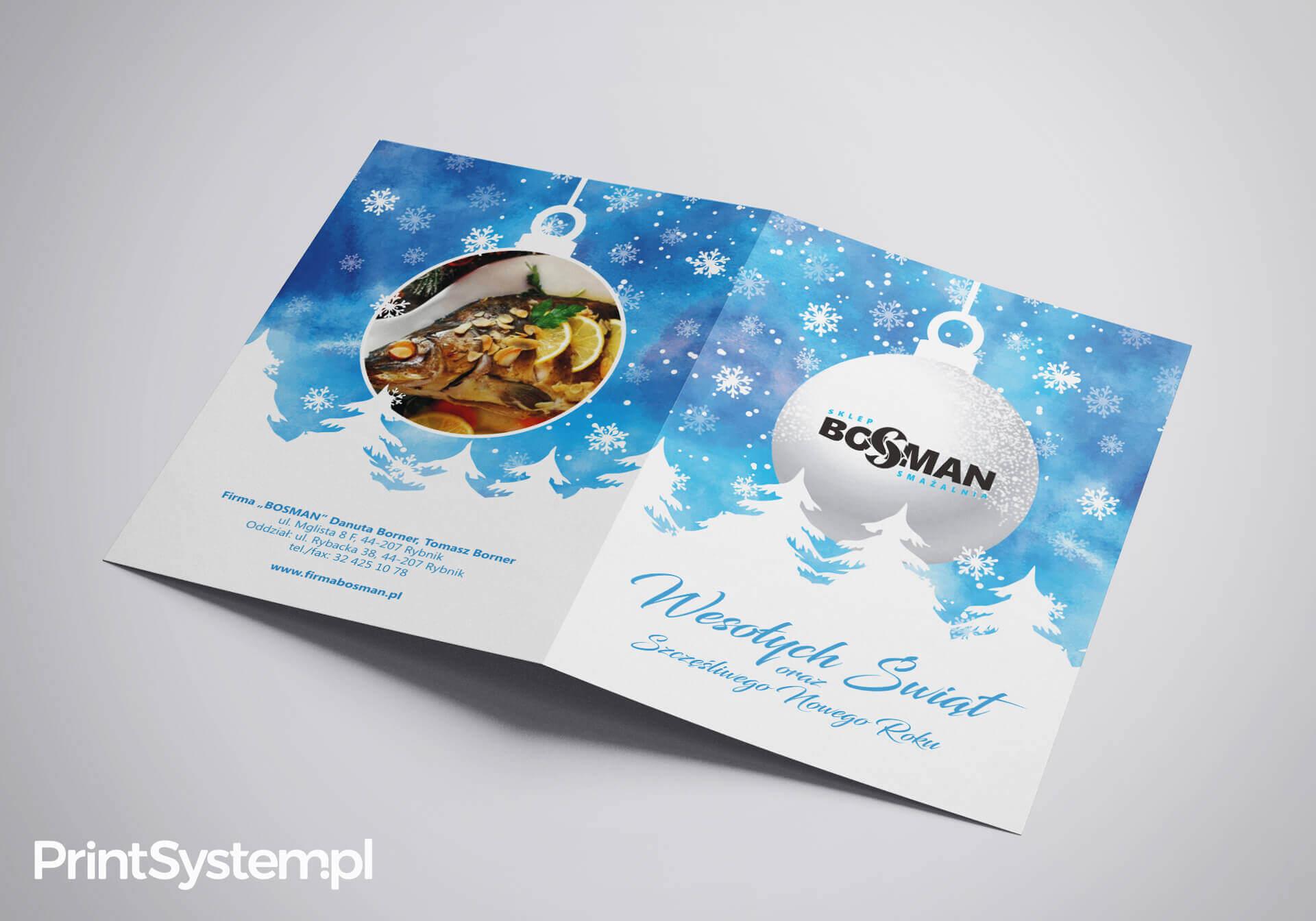 Kartki świąteczne Zaproszenia