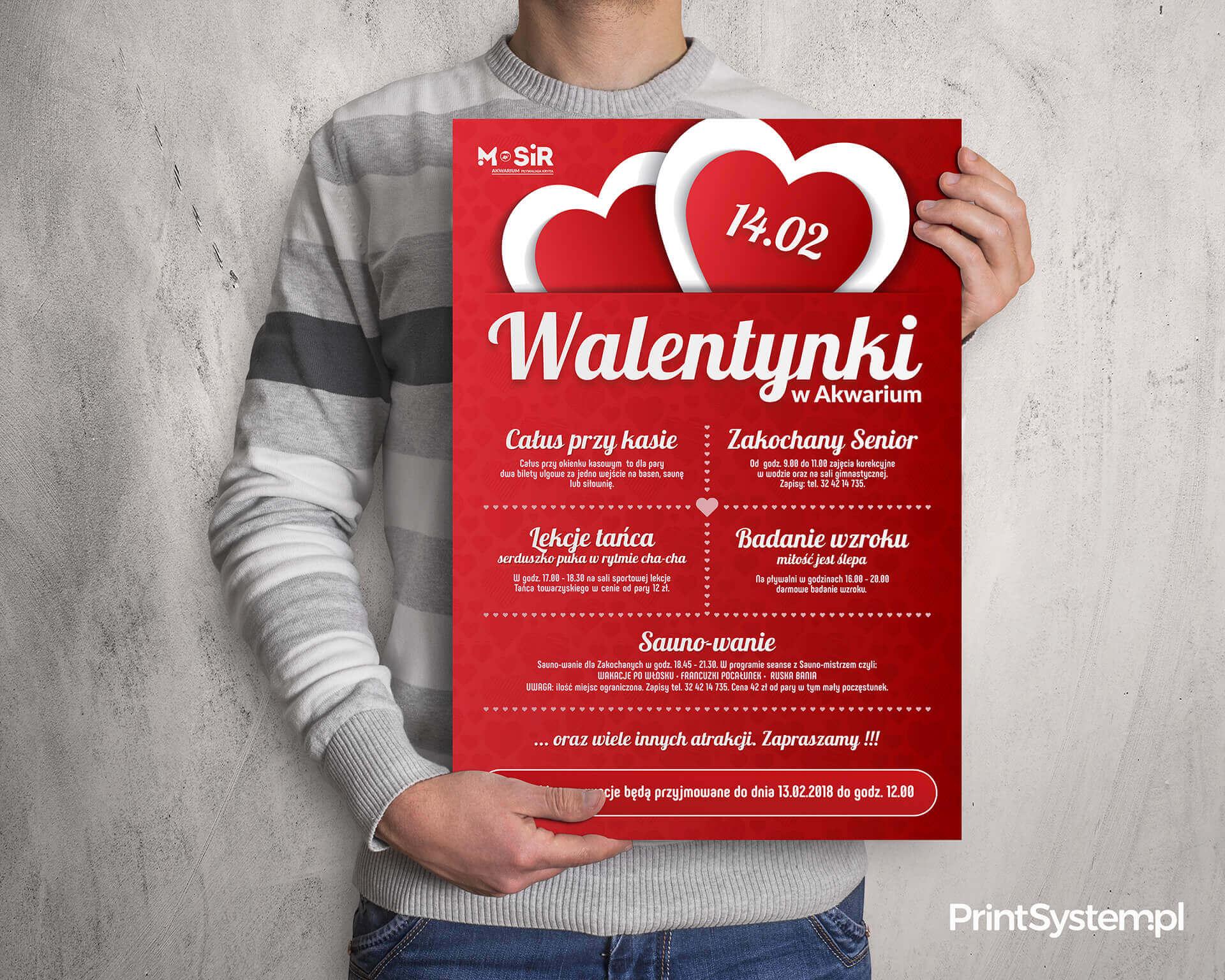 plakaty reklamowe